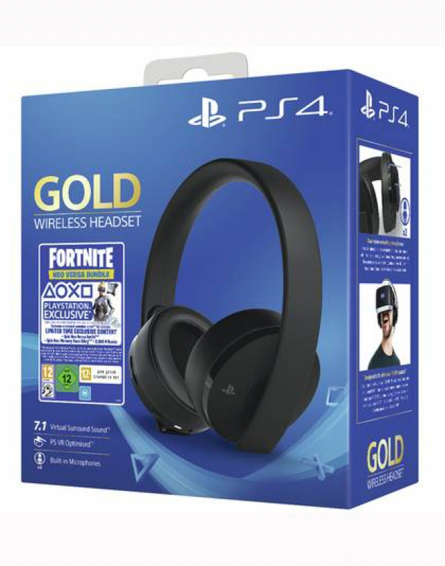 AUSCULTADORES GAMING SONY WIRELESS GOLD  HEADSET 7.1