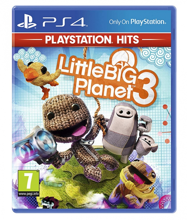LITTLE BIG PLANET 3 (EM PORTUGUÊS) PS4