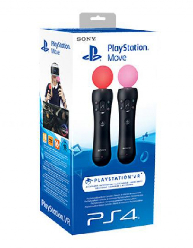 PS4 COMANDOS MOVE TWIN PACK
