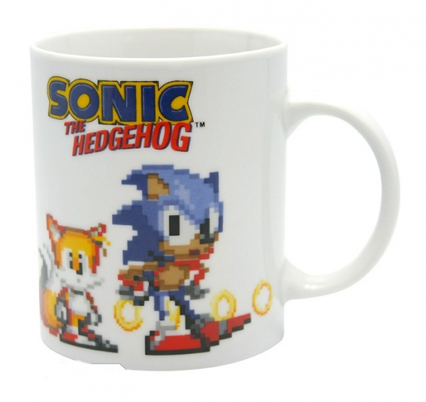 Caneca SEGA Sonic The Hedgehog Pixels (320ml)