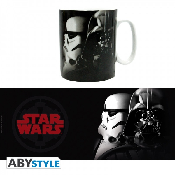 Caneca STAR WARS Vader & Stormtrooper Faces (460ml)