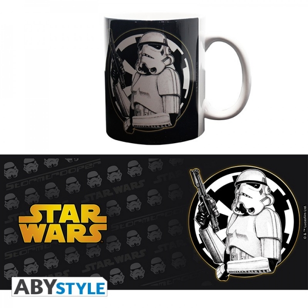 Caneca STAR WARS Trooper & Logo (320ml)