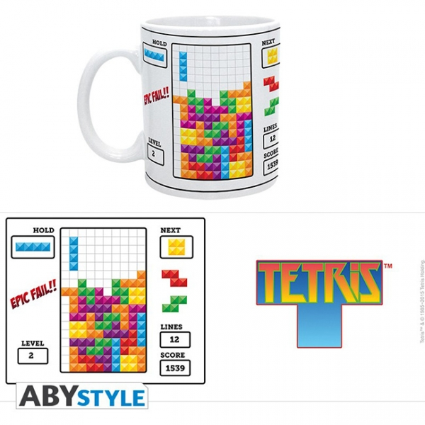 Caneca TETRIS Epic Fail (320ml)