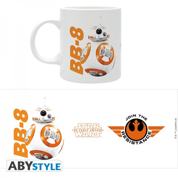 Caneca STAR WARS BB-8 Join The Resistance (320ml)