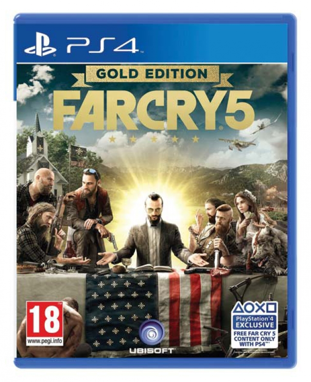 FAR CRY 5 Gold Edition (Oferta DLC) PS4