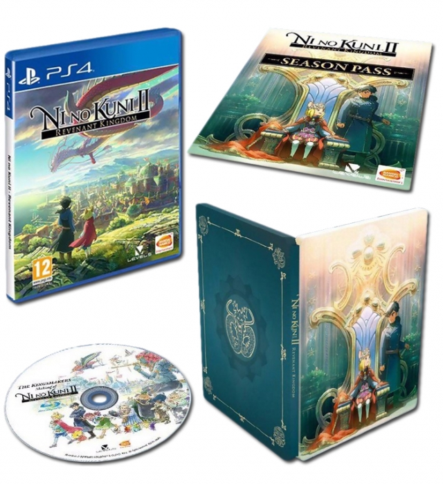 NI NO KUNI 2 REVENANT KINGDOM Princes Edition (Oferta DLC) PS4