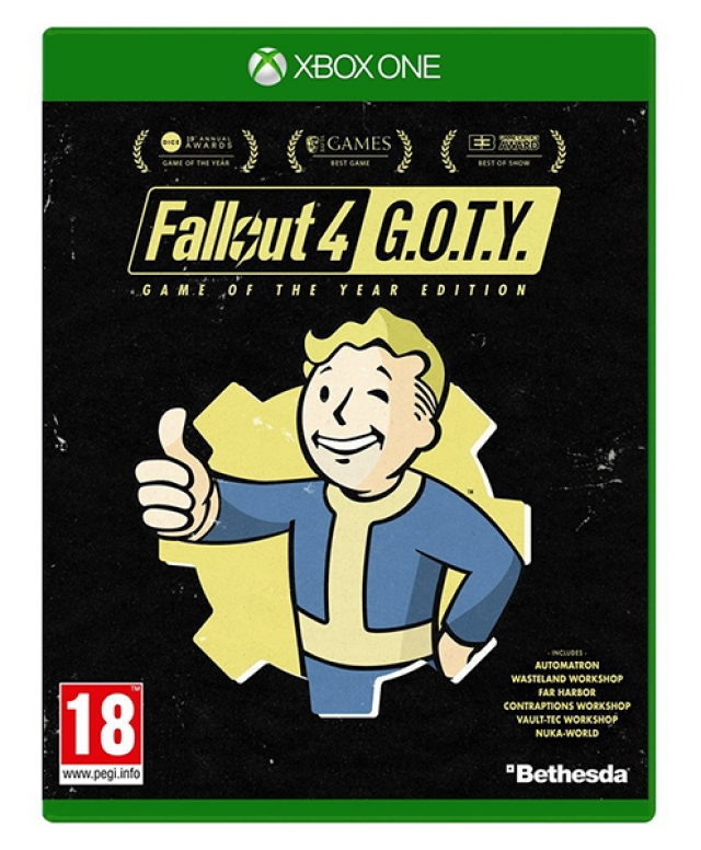 FALLOUT 4 Game of The Year Edition XBOX ONE