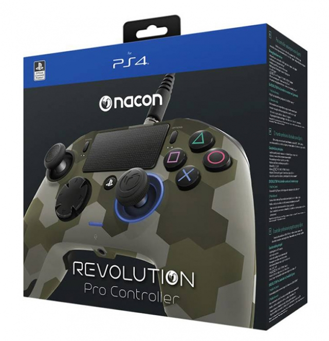 COMANDO NACON REVOLUTION PRO Camuflado PS4