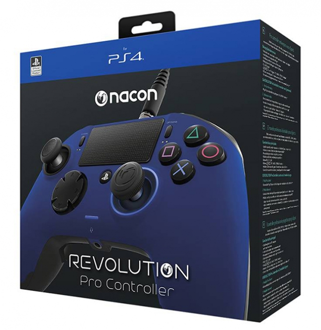 COMANDO NACON REVOLUTION PRO Azul PS4
