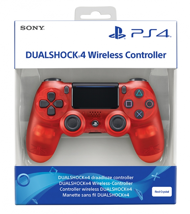 COMANDO SONY DUALSHOCK 4 V2 Crystal Red PS4