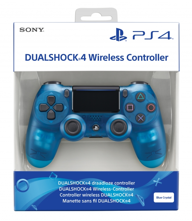 COMANDO SONY DUALSHOCK 4 V2 Crystal Blue PS4