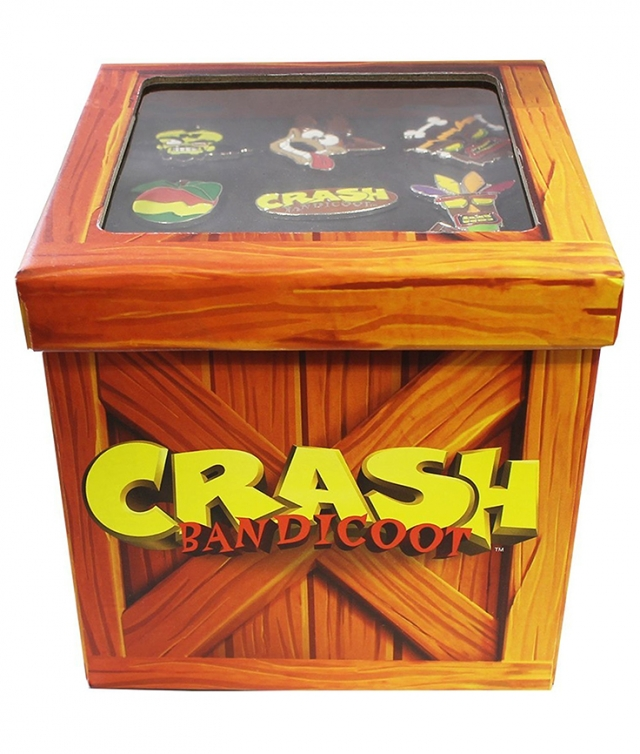 Pins CRASH BANDICOOT (9 Pins)