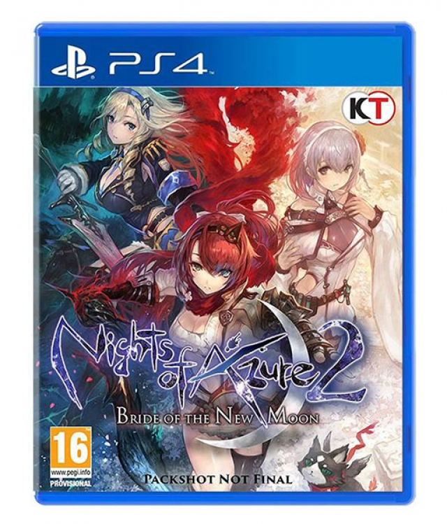 NIGHTS OF AZURE 2 Bride of The New Moon PS4