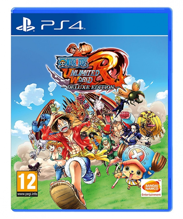 ONE PIECE UNLIMITED WORLD RED Deluxe Edition PS4