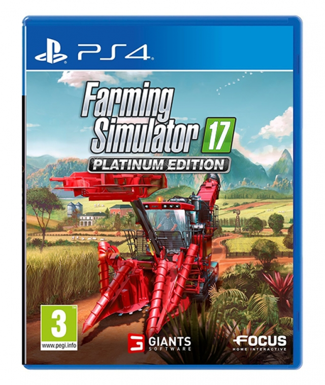 FARMING SIMULATOR 17 Platinum Edition PS4