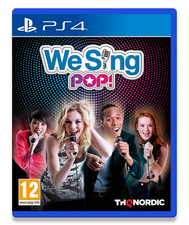 WE SING POP! PS4