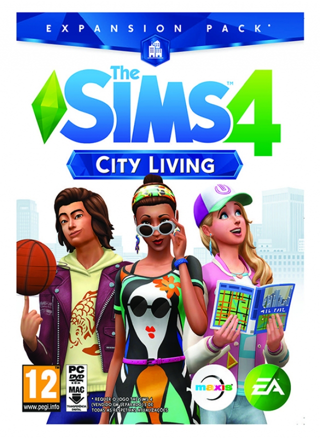 THE SIMS 4 Expansão CITY LIVING PC