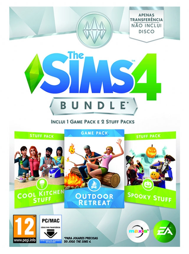 THE SIMS 4 Expansão Bundle Pack 3 PC