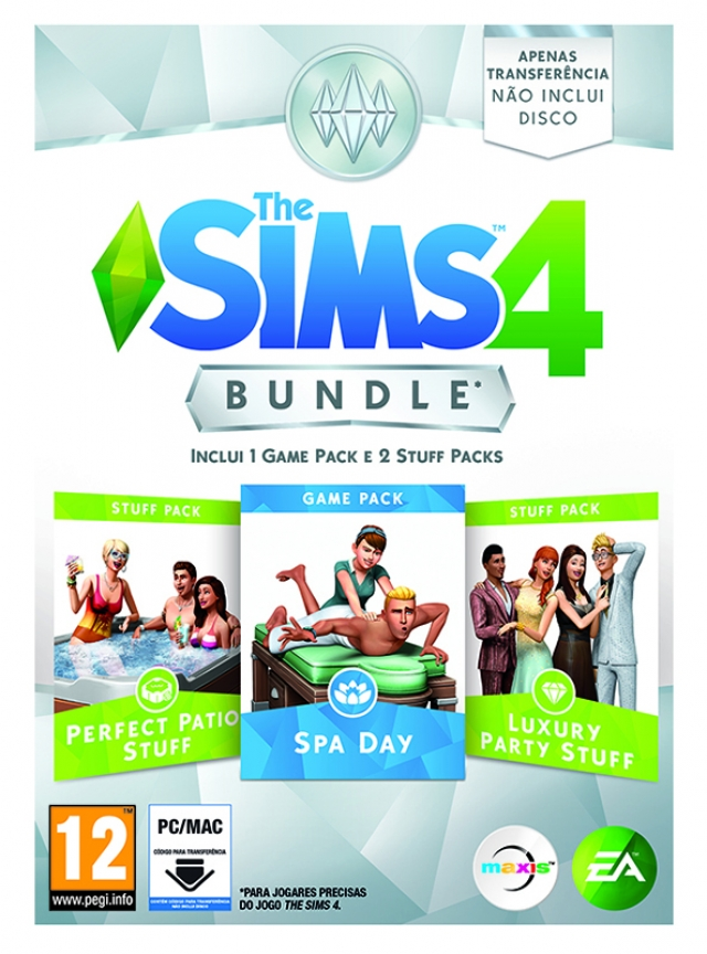 THE SIMS 4 Expansão Bundle Pack 1 PC