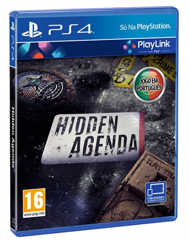 Playlink HIDDEN AGENDA (EM PORTUGUÊS) PS4
