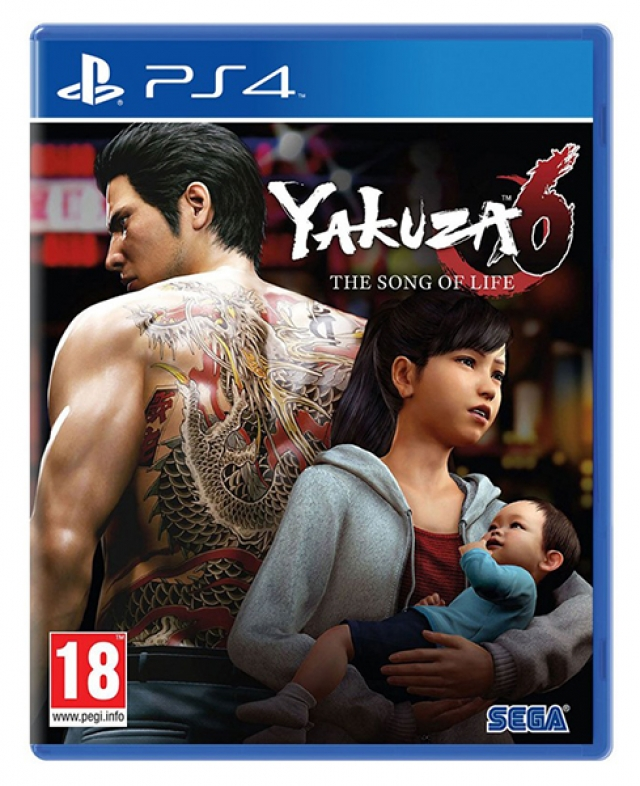 YAKUZA 6 THE SONG OF LIFE HITS PS4