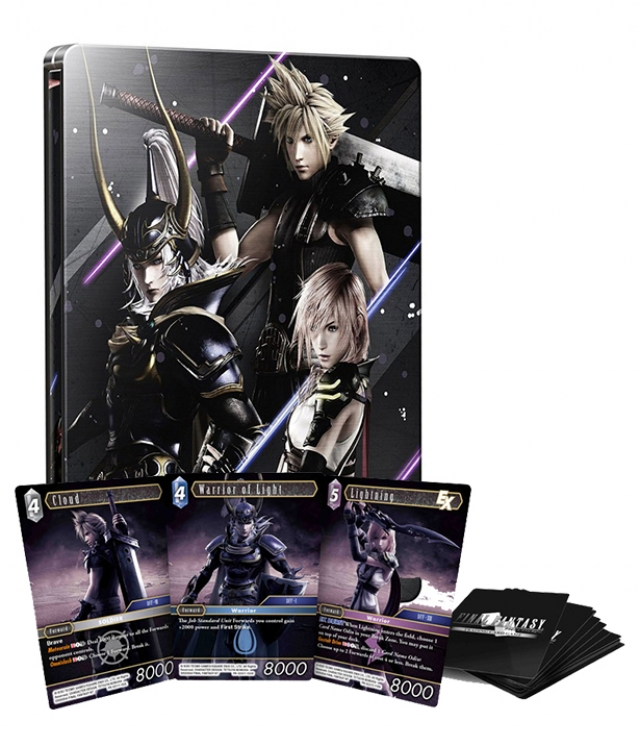 DISSIDIA FINAL FANTASY NT Special Steelbook Edition (Oferta 3 Cartas Físicas) PS4