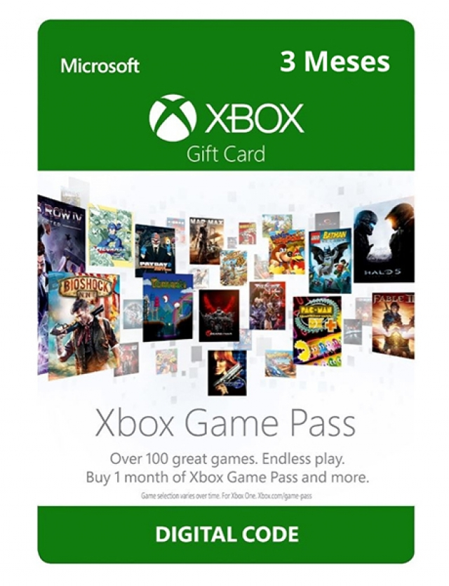 GAME PASS 3 MESES (Envio por email) XBOX ONE