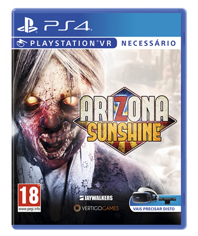 VR ARIZONA SUNSHINE PS4