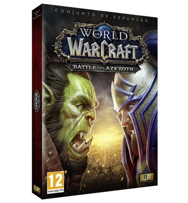 WORLD OF WARCRAFT BATTLE FOR AZEROTH (Expansão) PC