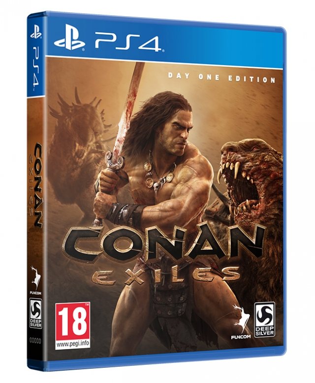 CONAN EXILES Day One Edition PS4