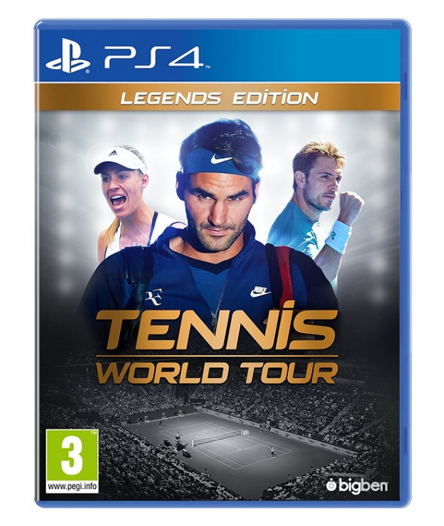 TENNIS WORLD TOUR Legends Edition PS4