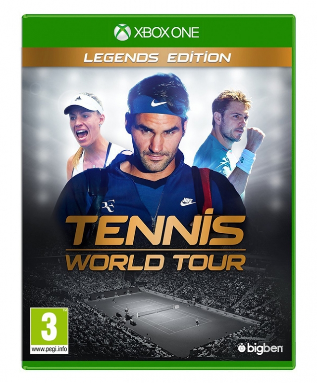 TENNIS WORLD TOUR Legends Edition XBOX ONE