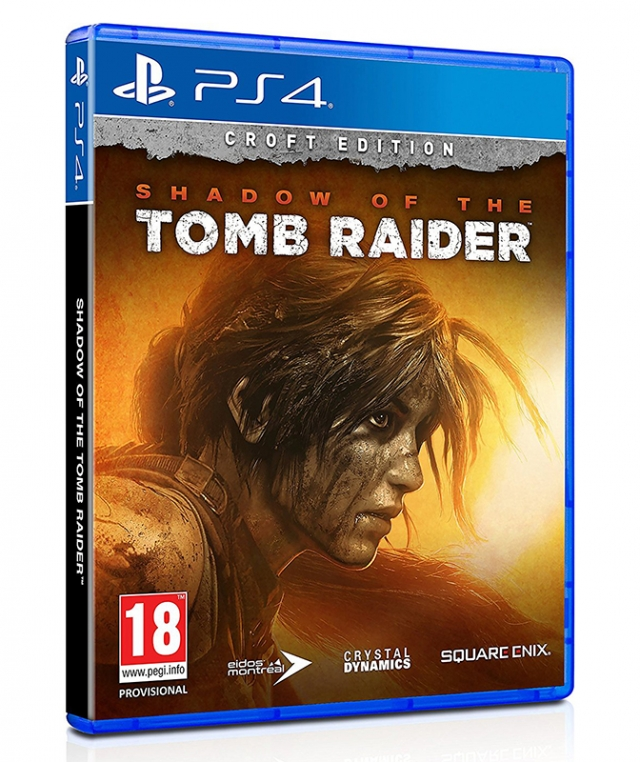 SHADOW OF THE TOMB RAIDER Croft Edition (Com Ofertas Reserva) PS4