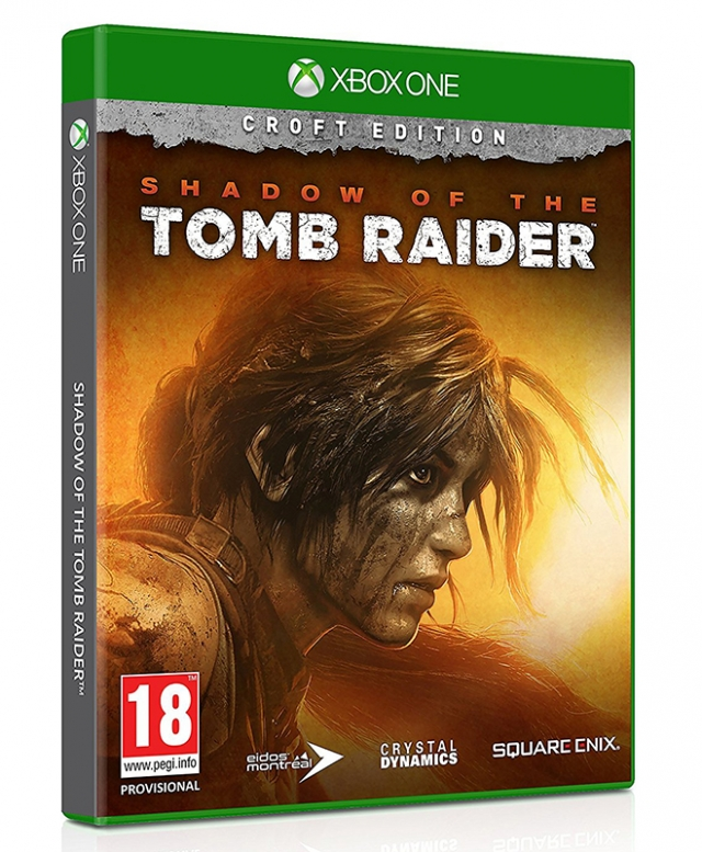 SHADOW OF THE TOMB RAIDER Croft Edition (Com Ofertas Reserva) XBOX ONE