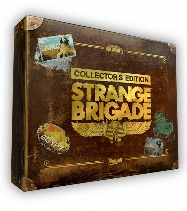 STRANGE BRIGADE Collectors Edition PS4