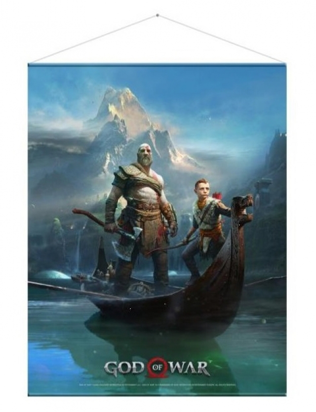 Poster GOD OF WAR Father and Son (77x100cm)