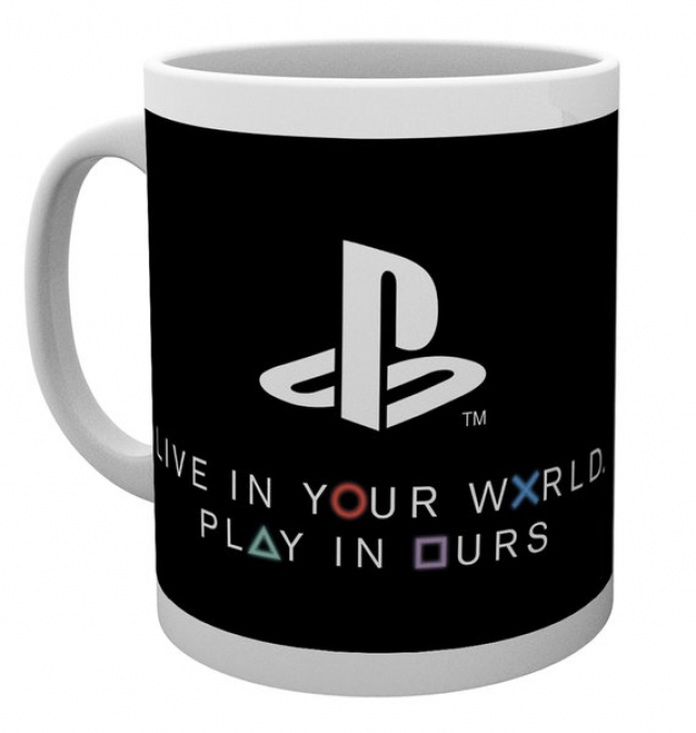 Caneca PLAYSTATION WORLD