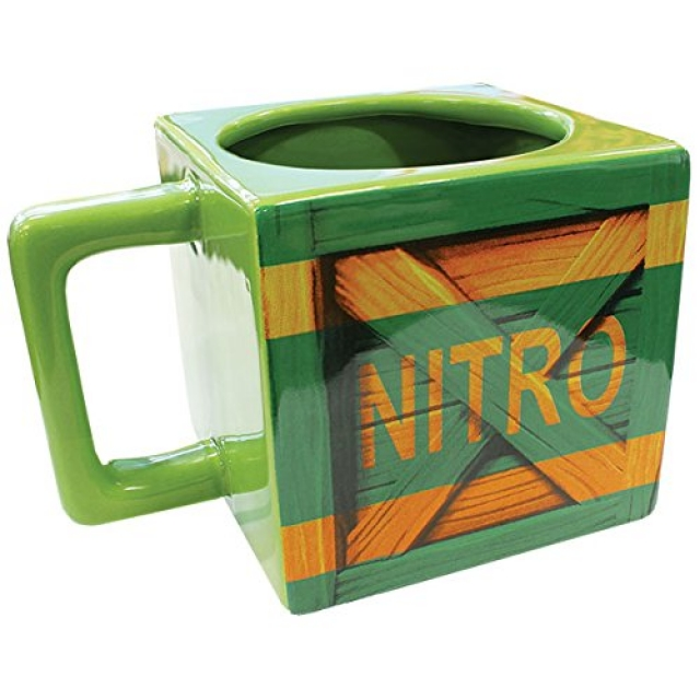 Caneca CRASH BANDICOOT NITRO Crate (450ml)