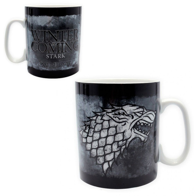Caneca GAME OF THRONES Stark Winter is Coming (460ml)