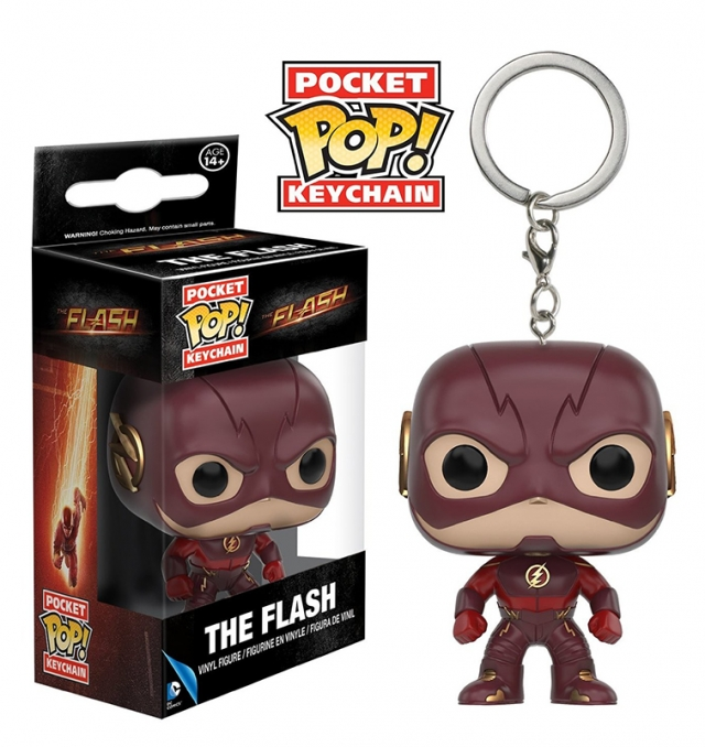 Porta-Chaves Pocket POP! The Flash