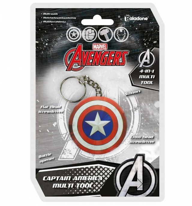 Porta-Chaves MARVEL Captain America Multi Tool