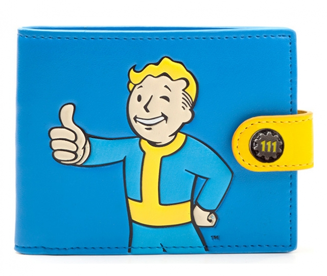 Carteira FALLOUT Vault Boy Approved