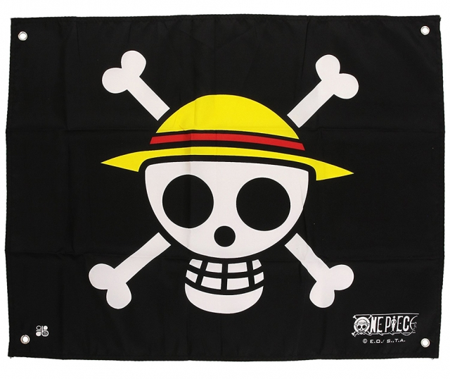 Bandeira ONE PIECE Skull Luffy (60x50cm)