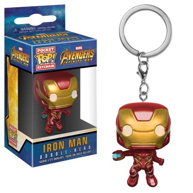 Porta-Chaves MARVEL Pocket POP! Iron Man