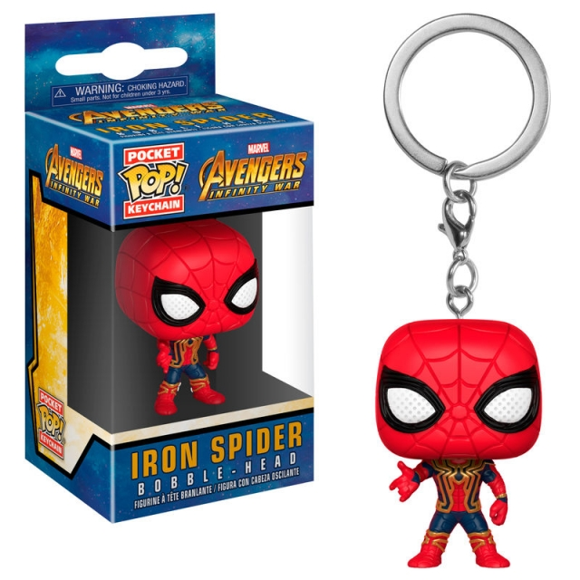 Porta-Chaves MARVEL Pocket POP! Iron Spider