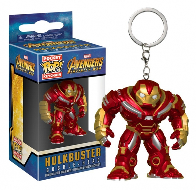 Porta-Chaves MARVEL Pocket POP! Hulkbuster