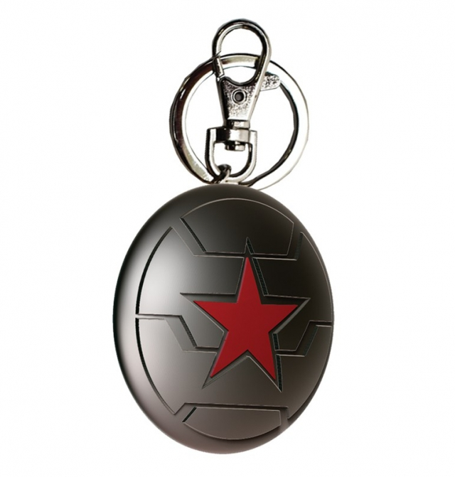 Porta-Chaves MARVEL Captain America Winter Soldier Metal