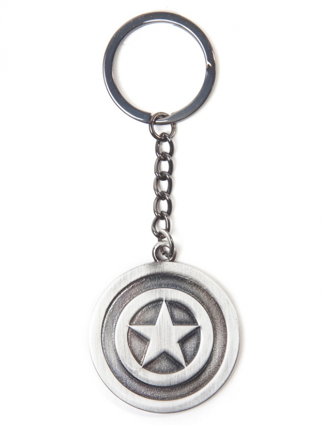 Porta-Chaves MARVEL Captain America Shield Metal