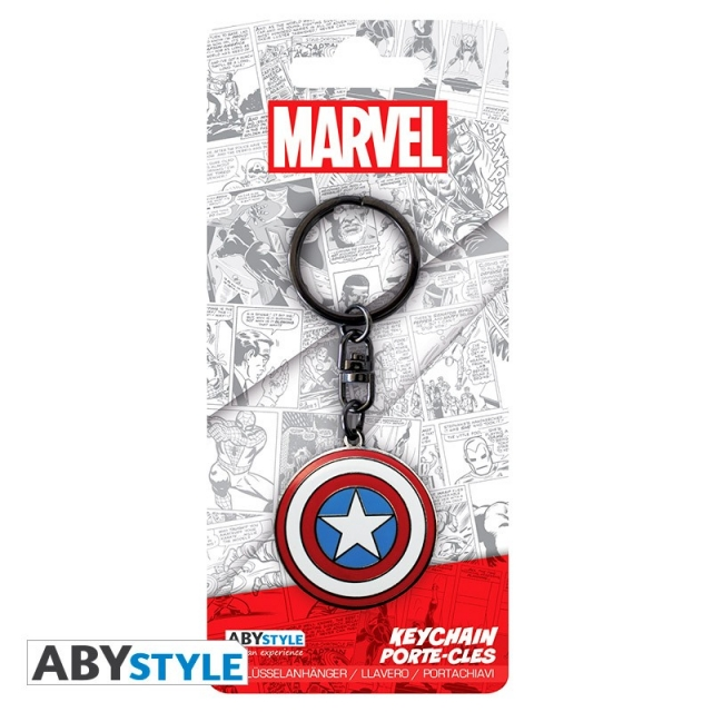 Porta-Chaves MARVEL Captain America Metal