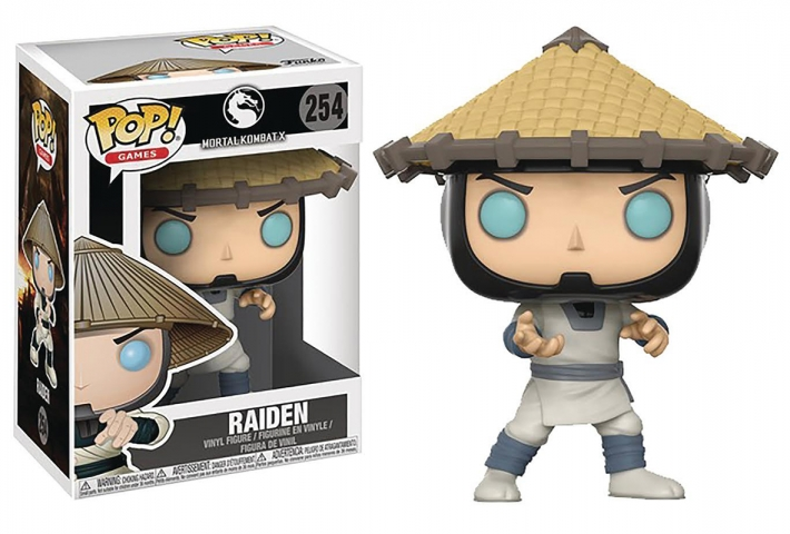 POP MORTAL KOMBAT #254 Raiden